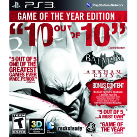 Batman: Arkham City™ Game of The Year (Em Português) PS3