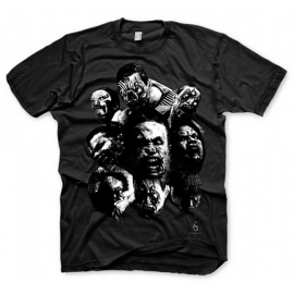 T-shirt Resident Evil 6 Zombie Mosaic Tamanho L