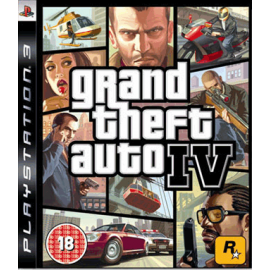 Grand Theft Auto IV (Seminovo) PS3