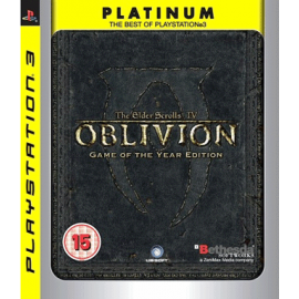 509 - Elder Scrolls IV: Oblivion Game Of The Year Edition (Platinum) (Seminovo) PS3-509