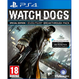 4060 - Watch Dogs Exclusive Edition (Seminovo) PS4-4060