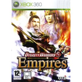 Dynasty Warriors 5 Empires (Seminovo) Xbox 360
