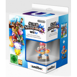 Super Smash Bros + Amiibo Mario Wii U