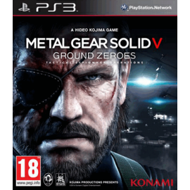 Metal Gear Solid Ground Zeros PS3