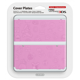 New 3DS Capa Decorativa Mario Rosa