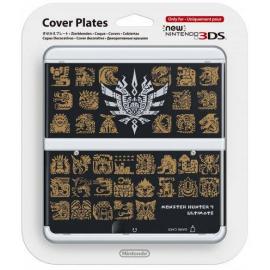 New 3DS Capa Decorativa Monster Hunter 4 Preto