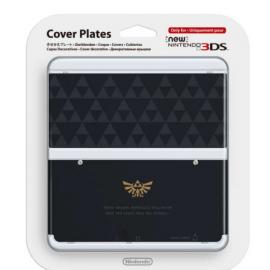 New 3DS Capa Decorativa Zelda Triforce