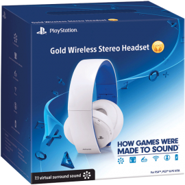 5395 - Wireless Stereo Headset 2.0 - Glacier White (PS4, PS3, PSVita, PC, MAC)-5395