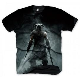 T-shirt Skyrim Dragonborn Tamanho L