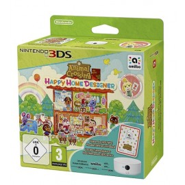 Animal Crossing Happy Home Designer 3DS + 1 Cartão Amiibo