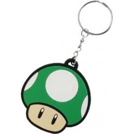 Porta-Chaves Nintendo - Mushroom Green Rubber