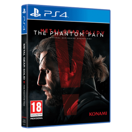 Metal Gear Solid V The Phantom Pain (Em Português) (Seminovo) PS4
