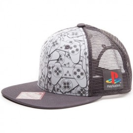 Boné Playstation Controller Trucker