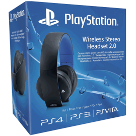 3616 - Wireless Stereo Headset 2.0 (PS4, PS3, PSVita, PC, MAC)-3616