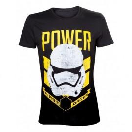 T-shirt Star Wars Stormtrooper Power Tamanho L