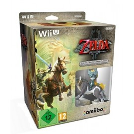 The Legend of Zelda Twilight Princess HD Wii U + Amiibo Wolf Link + Banda Sonora