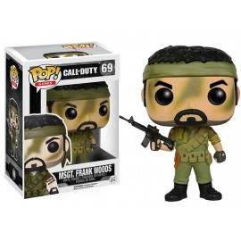 Pop Call of Duty MSGT. Frank Woods 9 cm