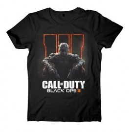 T-shirt Call of Duty Black Ops III Game Logo Tamanho S