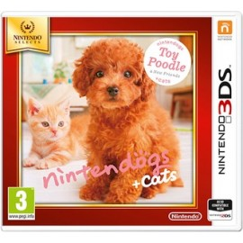 Nintendo Dogs + Cats Poodle Nintendo Selects 3DS