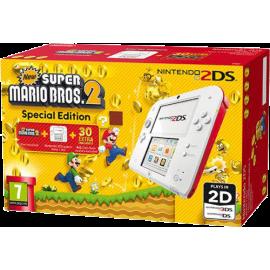 Consola Nintendo 2DS (Vermelha) + New Super Mario Bros. 2 (Pré-instalado) Edição Especial