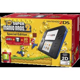 Consola Nintendo 2DS (Azul) + New Super Mario Bros. 2 (Pré-instalado) Edição Especial
