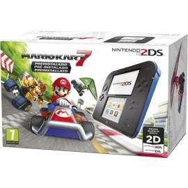 Consola Nintendo 2DS Azul + Mario Kart 7 (pré-instalado)