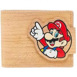 Carteira Nintendo Woodgrain Snap