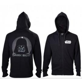 Casaco Star Wars Black Darth Vader Tamanho XL