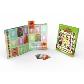 Pack 3 Cartões Amiibo Animal Crossing HHD + Album