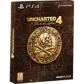 Uncharted 4 O Fim de um Ladrão - Edição Especial PS4 (Em Português)
