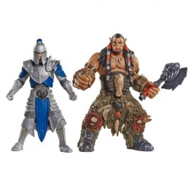 Warcraft Pack de 2 Mini Figuras: Lothar VS Horde Warrior