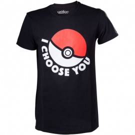 T-shirt Pokemon I Choose You Tamanho L