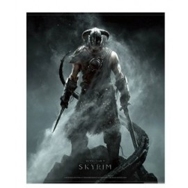 Wallscroll Dragonborn The Elder Scrolls V: Skyrim