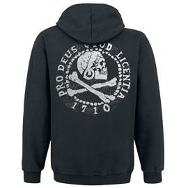 Casaco Uncharted 4 Skull At Back Tamanho L