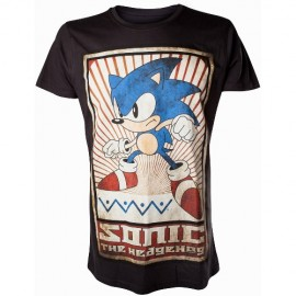 T-Shirt Sega Sonic Vintage