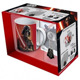Caneca Star Wars Darth Vader + Porta-Chaves + Autocolantes