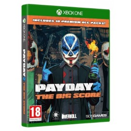 Payday 2 The Big Score (Incluí 10 DLC's) Xbox One