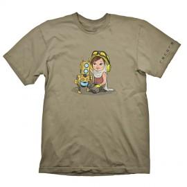 T-shirt Recore Mack Blue Tamanho M