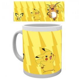 Caneca Pokemon Pikachu Evolution