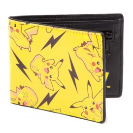 Carteira Pokemon All Over Pikachu Bifold