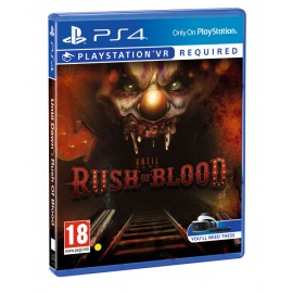 VR Until Dawn: Rush of Blood PS4