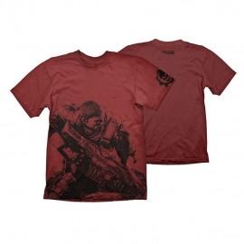 T-shirt Gears Of War 4 Tamanho M