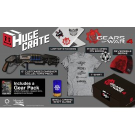 Gears of Wars 4 Huge Crate Fan Pack TAM XL