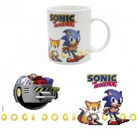 Caneca Sonic Pixels