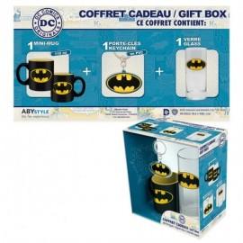 Caneca Batman + Porta-Chaves + Copo Batman
