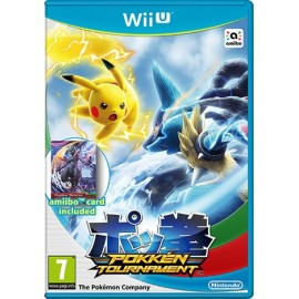 Pokémon Tournament (Seminovo) Wii U + Cartão Amiibo Shadow Mewtwo