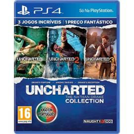 Uncharted Collection (Totalmente em Português) PS4