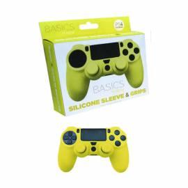 Capa de Silicone + Grips (Amarelo) PS4