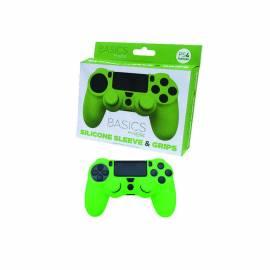 Capa de Silicone + Grips (Verde) PS4