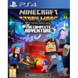 Minecraft: Story Mode - The Complete Adventure (Seminovo) PS4